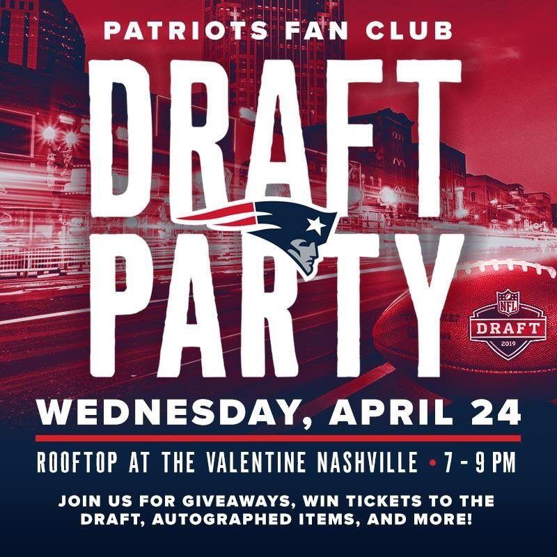 Nashville pats draft party