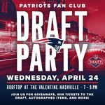 Nashville pats draft party