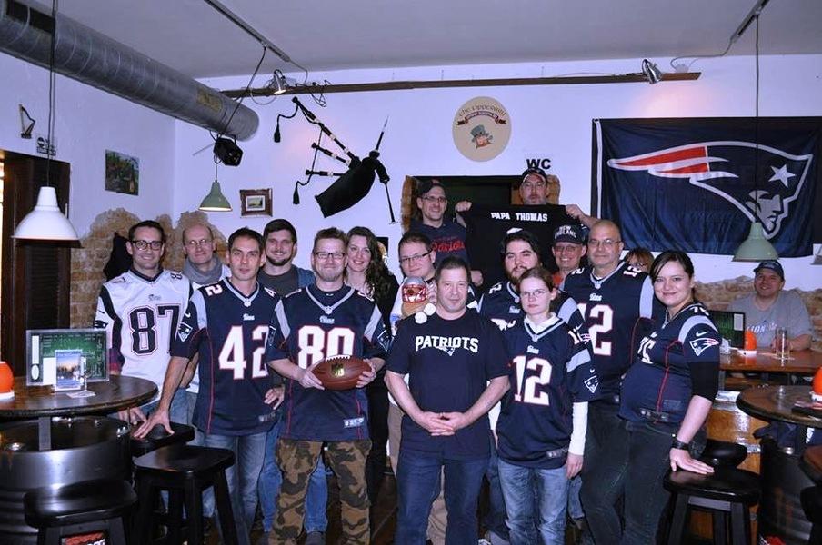 Patriots vs lions