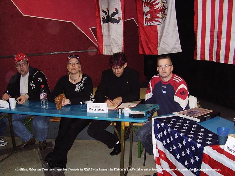 Vorstand berlin patriots 2008