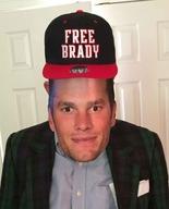 Free brady hat 2