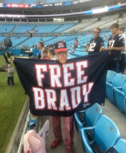 Freebrady at charlotte