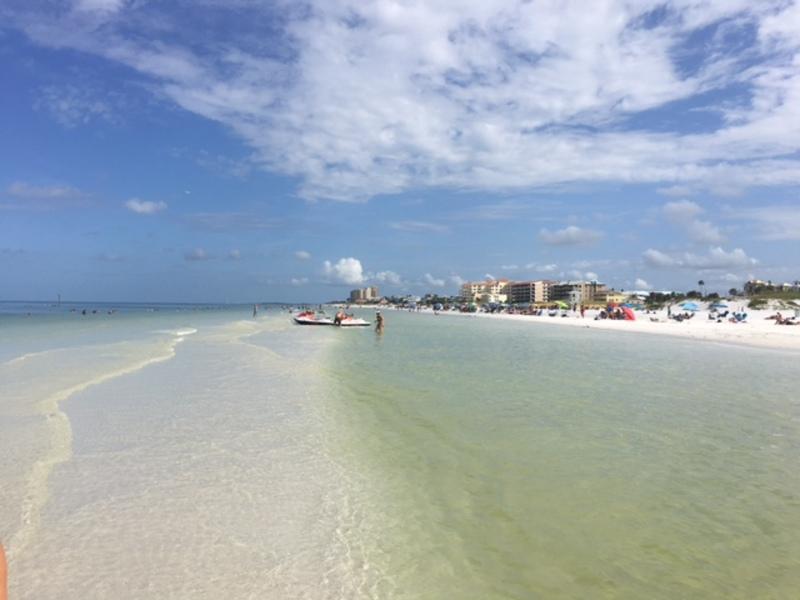Warm gulf water