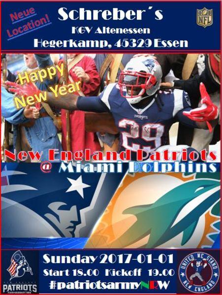 Patriots dophins a