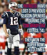 Patriots picture opening losses
