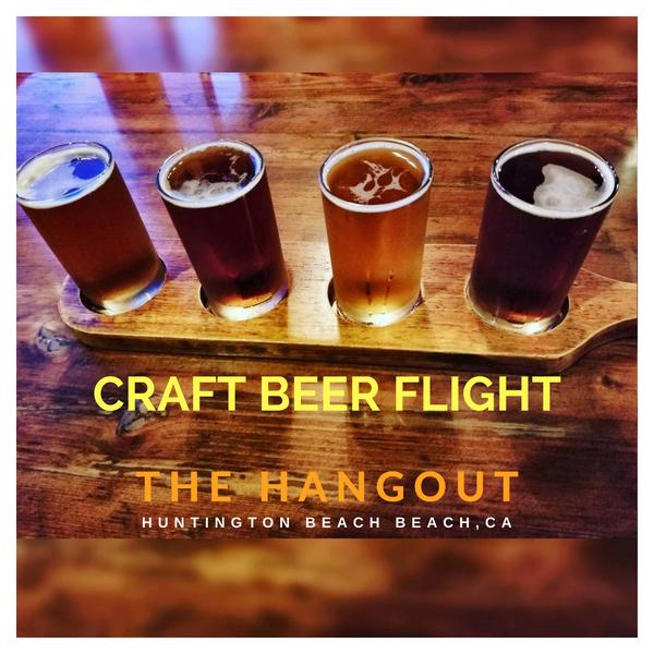Craft beer flight huntington beach