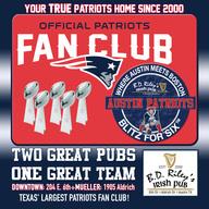 Pats fan club logo sq