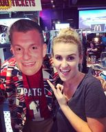 Gronk mask   samantha