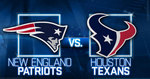Houston texans vs new england patriots logos